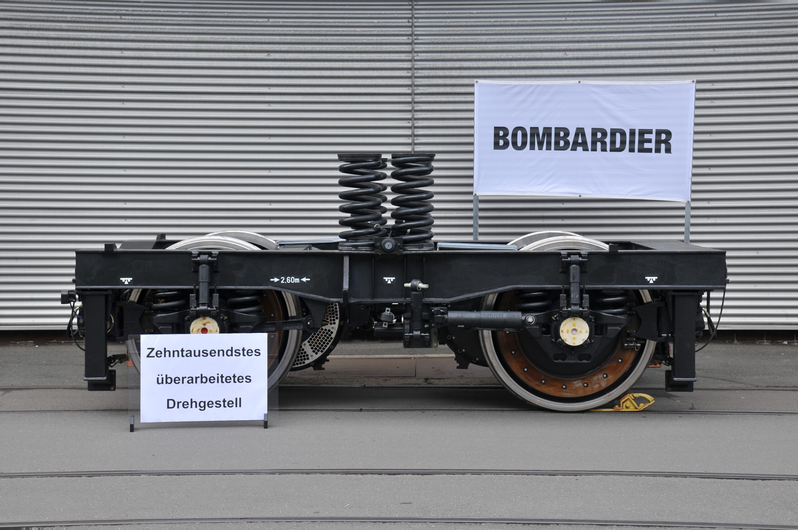 Bombardier's bogie competence centre in Siegen, Germany overhauls its 10,000th bogie