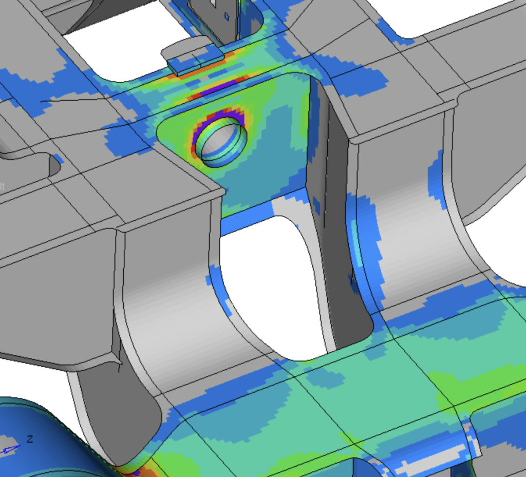 Strength Analysis of a Motor Bogie
