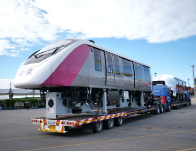Bombardier Presents First Monorails for Bangkok