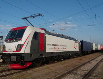 CFL cargo Buys 10 Bombardier TRAXX MS Locomotives