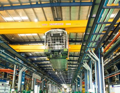 SriCity Factory in Andhra Pradesh Manufactures 500th Metro Car