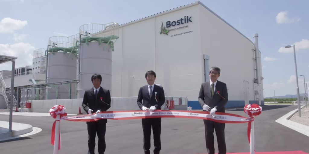 bostik new plant in Japan new facility