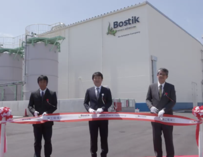 Bostik Inaugurates a New Industrial Adhesives Plant in Japan
