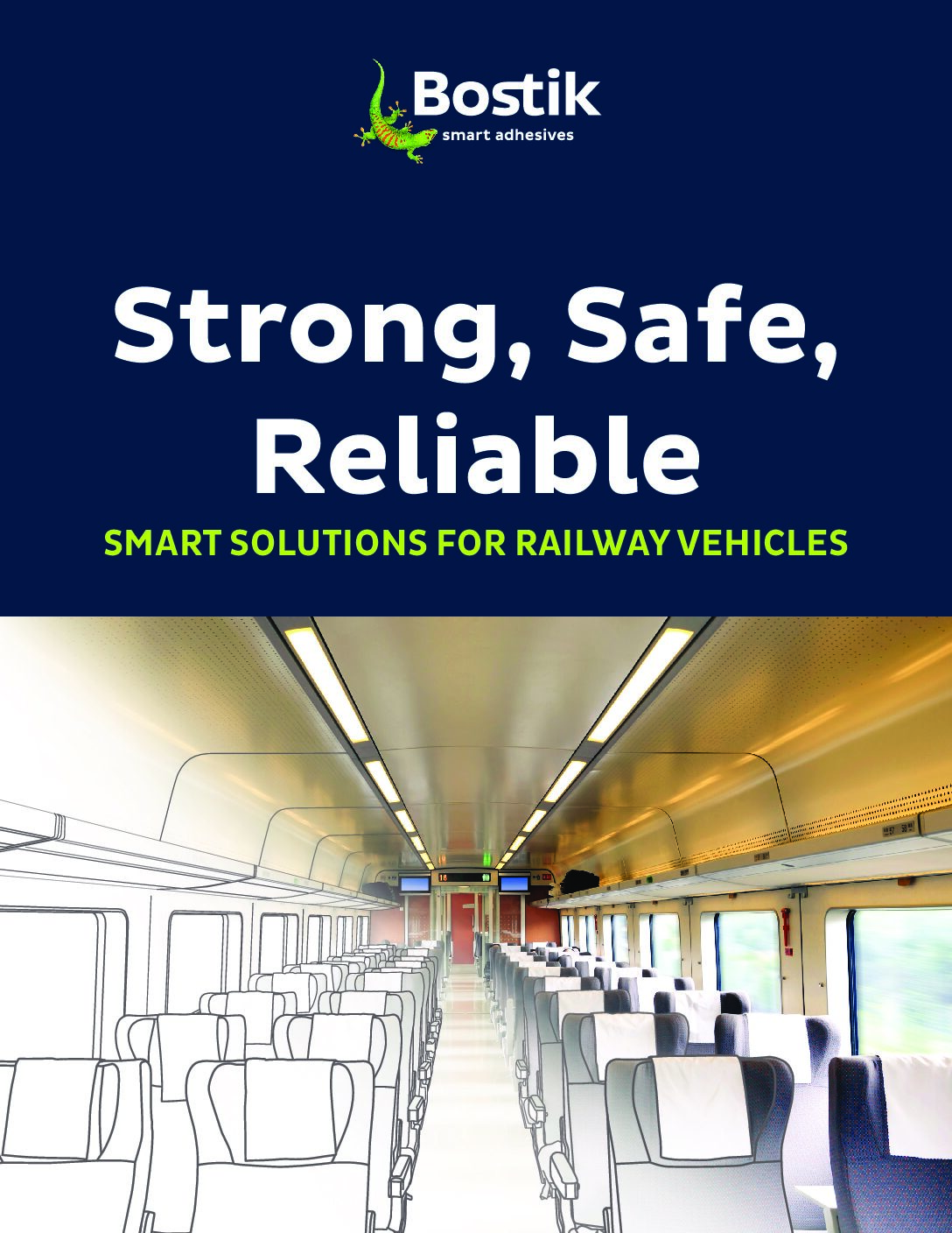 Adhesives for Railway Vehicles