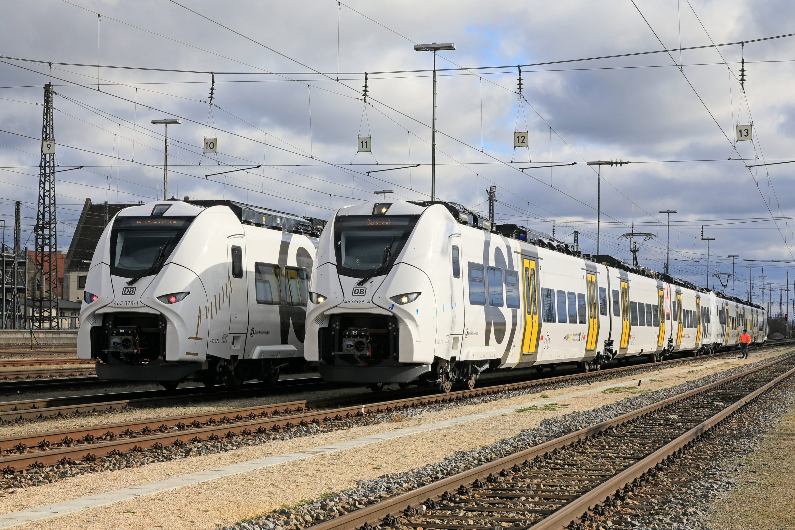 Siemens Mobility Mireo that will enter into service on the Rhine-Neckar S-Bahn in December 2020