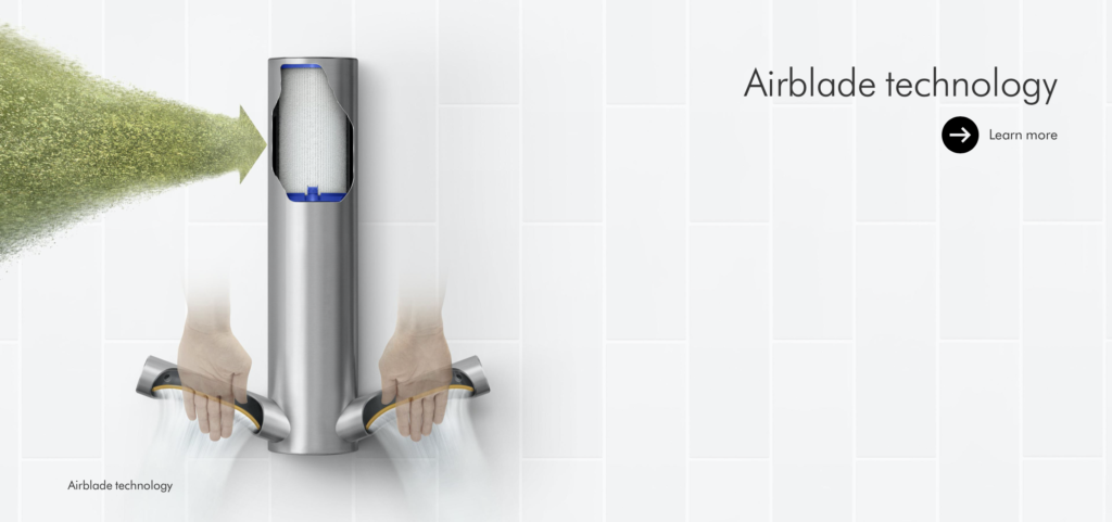 Dyson Airblade™ technology