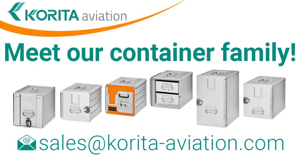 Korita Aviation Container Product Range