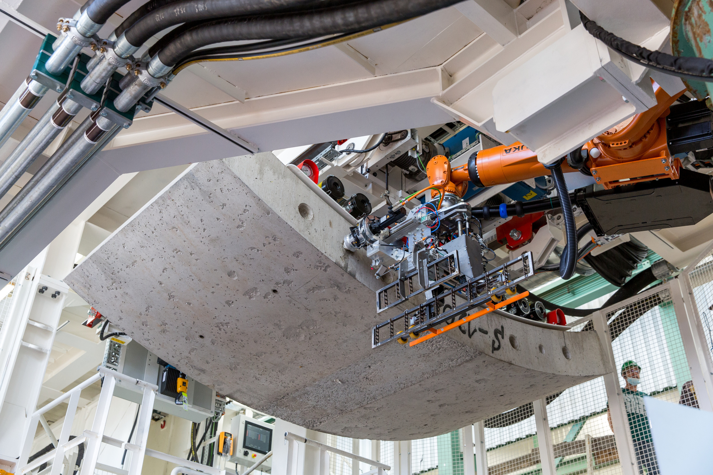 The Krokodyl robot that will work on the HS2 Chiltern tunnel boring machines