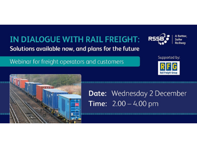 Webinar: In Dialogue with Rail Freight
