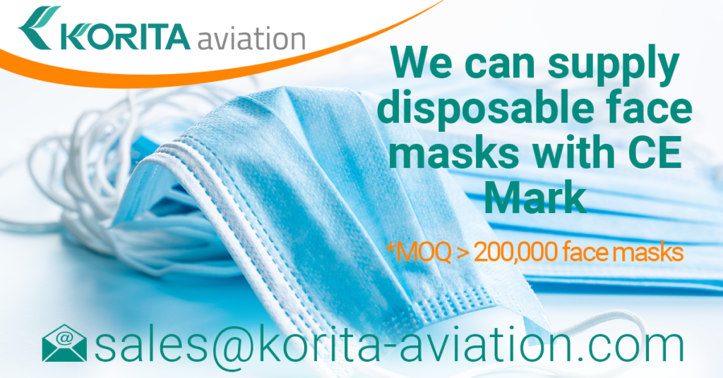 Disposable Face Masks with CE Mark