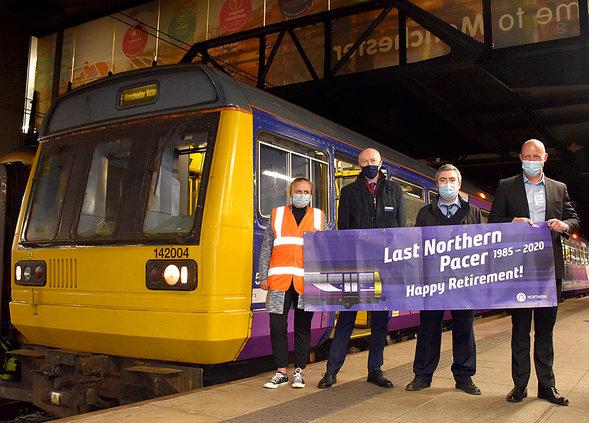 Northern removes last Class 142 Pacer train from service