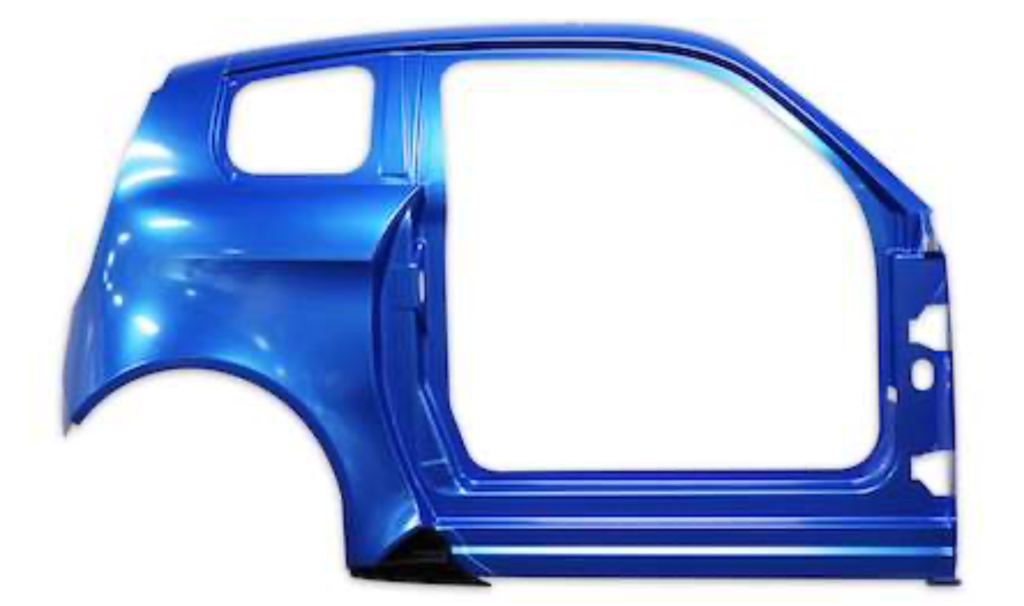 Chassis trim parts