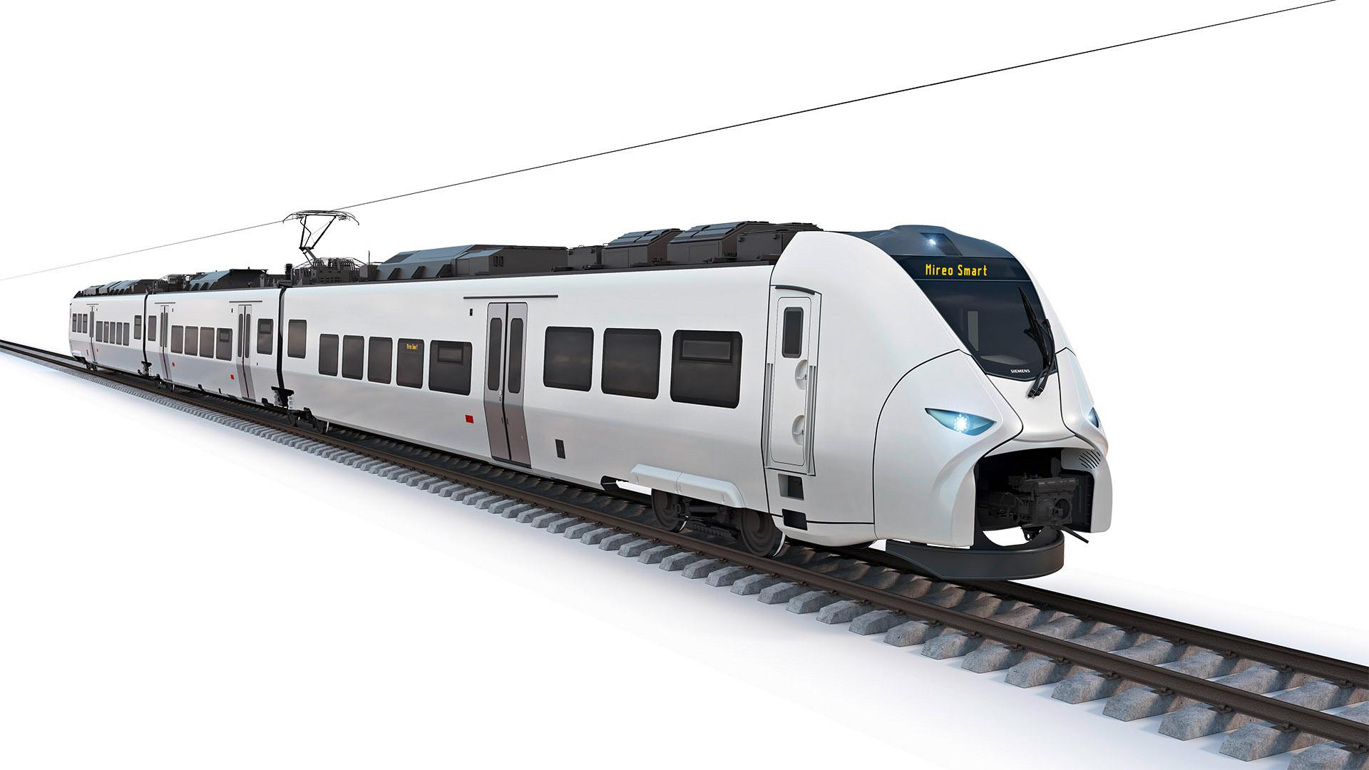 Siemens Mobility Mireo Smart rendering