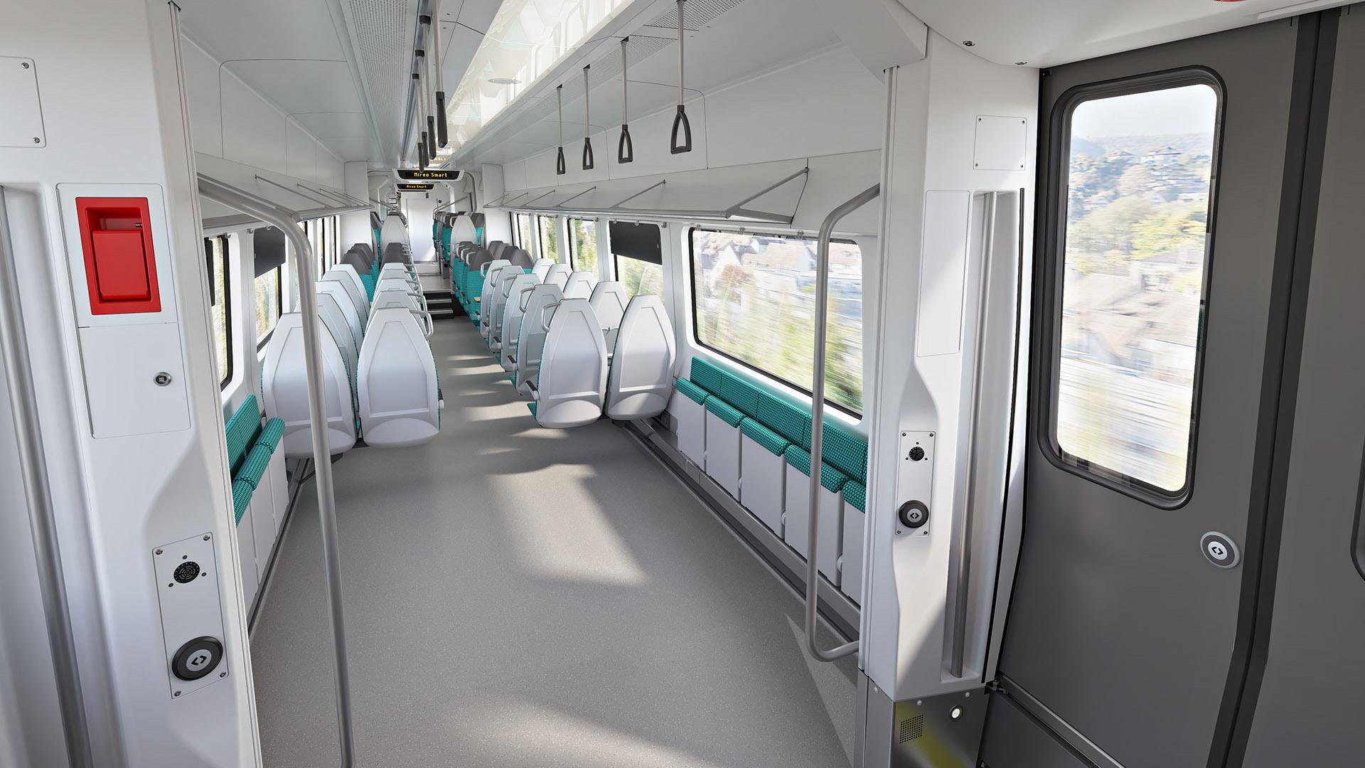 Siemens Mobility Mireo Smart entrance area