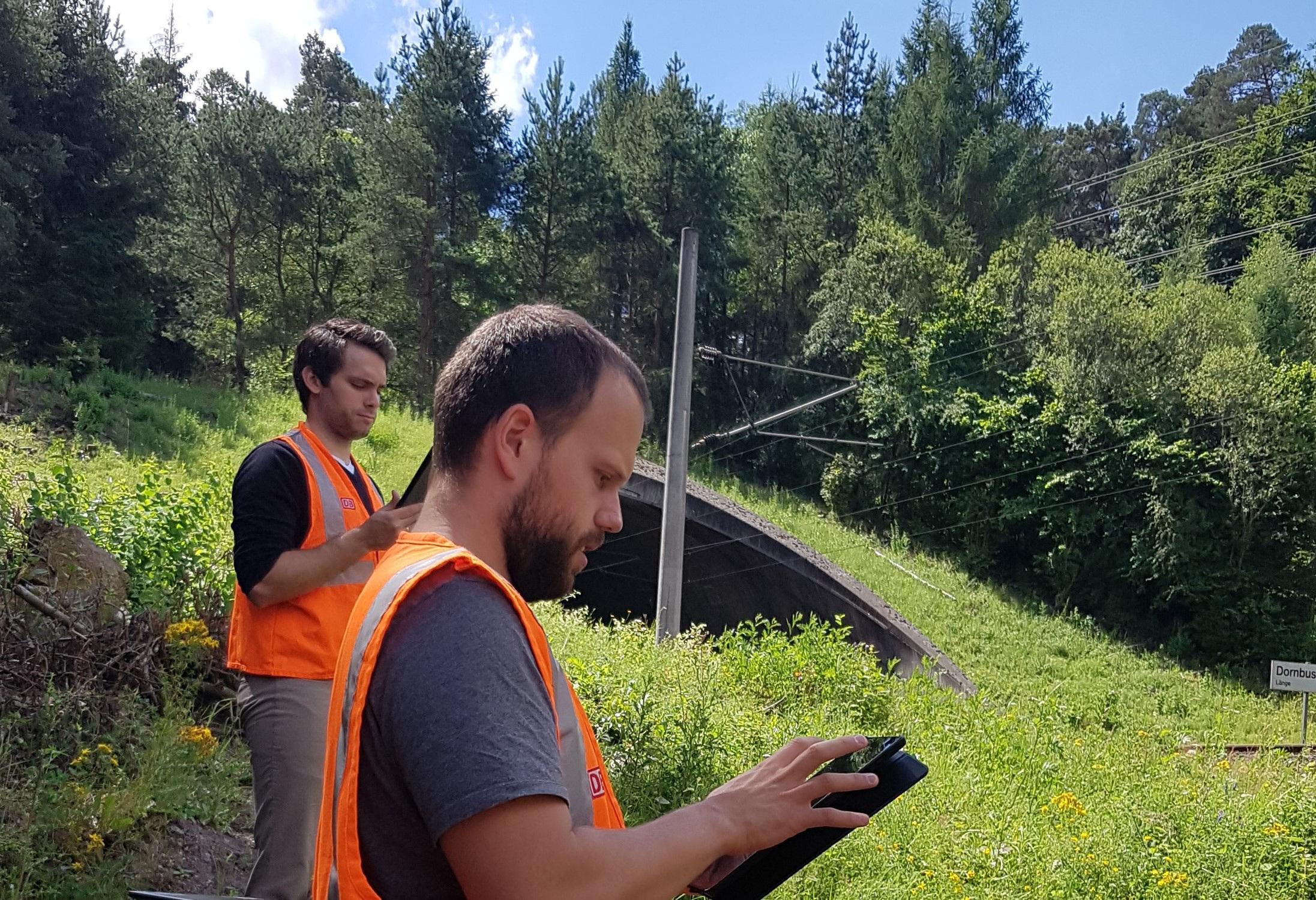 Vegetation management at Deutsche Bahn