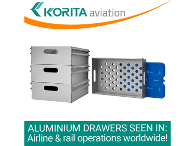 Aluminium Drawers for Rail Catering Operations!