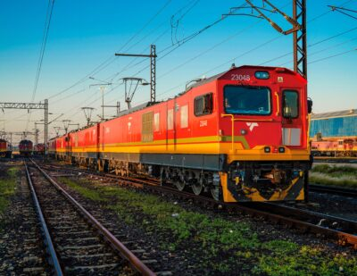TRAXX Locomotive Fleet in Africa Completes 10 Million In-Service KMs