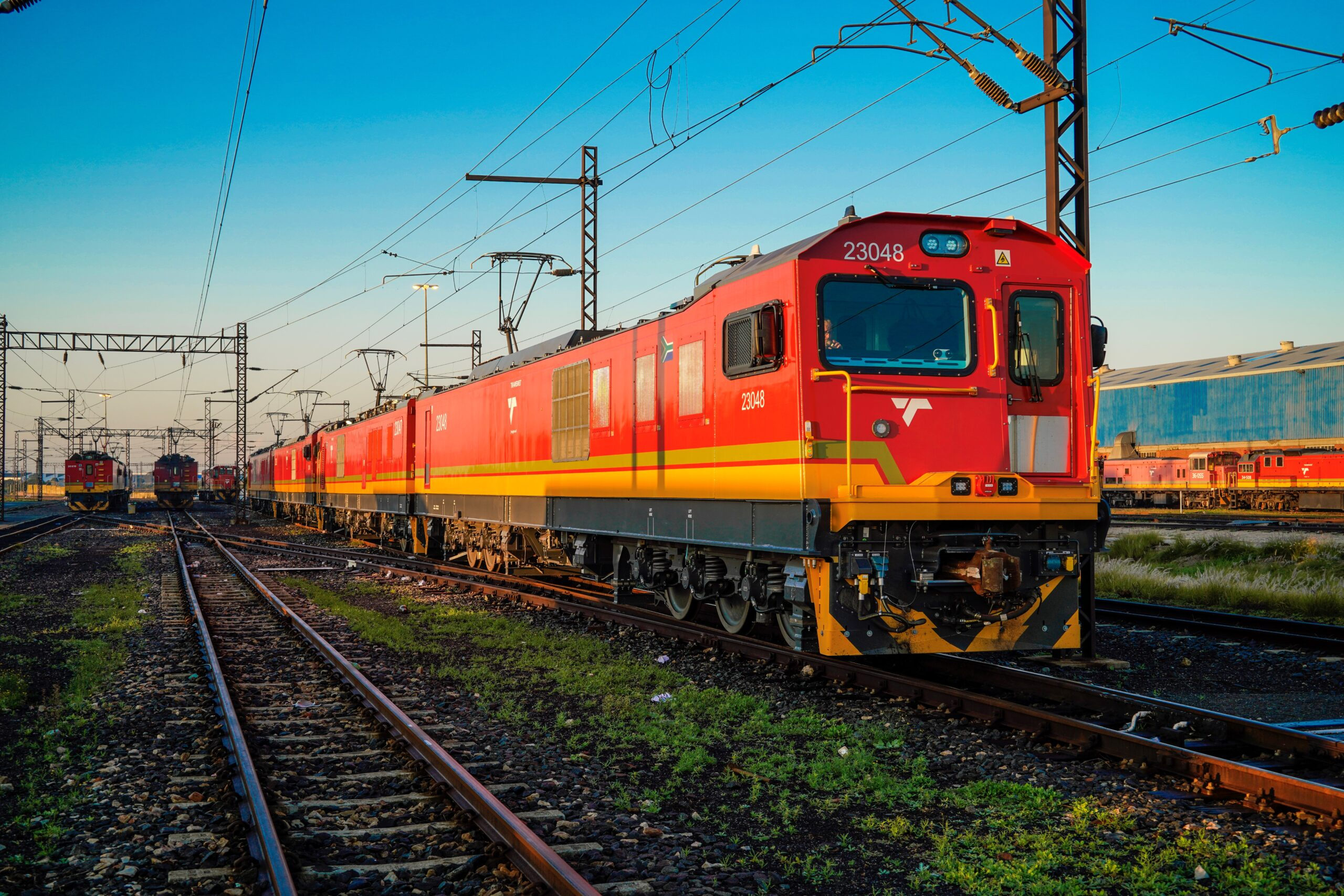Bombardier TRAXX Africa locomotive for Transnet