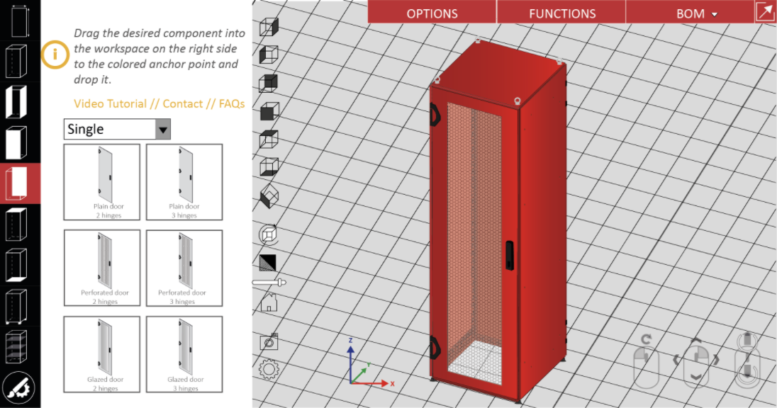 nVent-SCHROFF-Varistar-Cabinet-Configurator