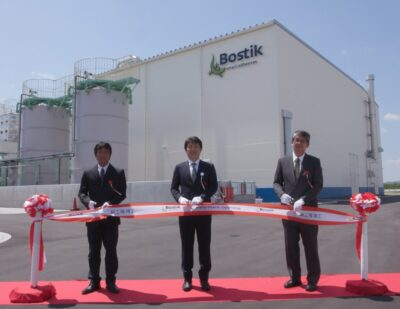 Bostik Starts It's First Plant in Japan!