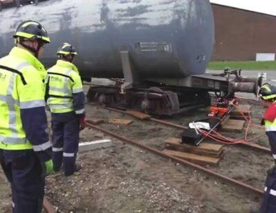 Holmatro Rerailing System