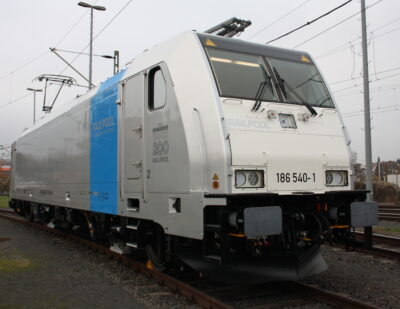 Bombardier Hands over 200th TRAXX Locomotive to Railpool