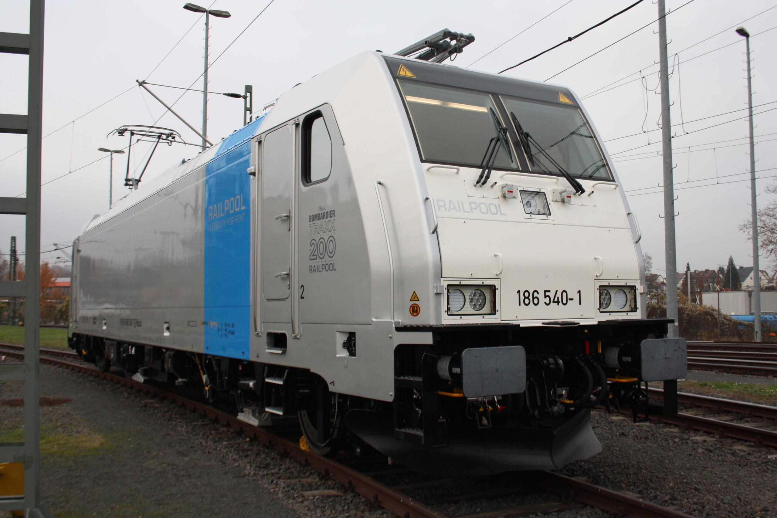 200th Bombardier TRAXX locomotive for Railpool