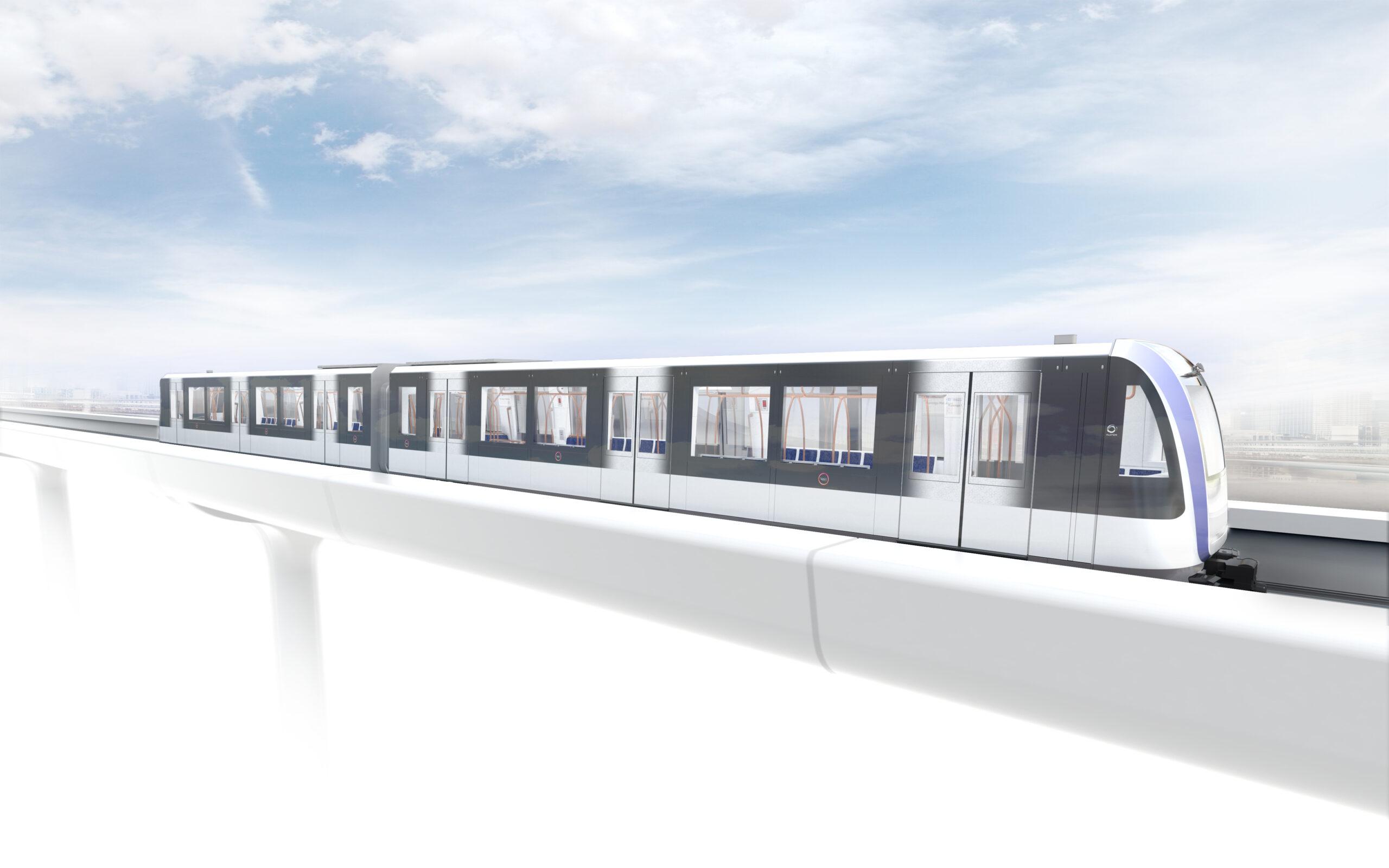 Alstom Metropolis for Toulouse Aerospace Express