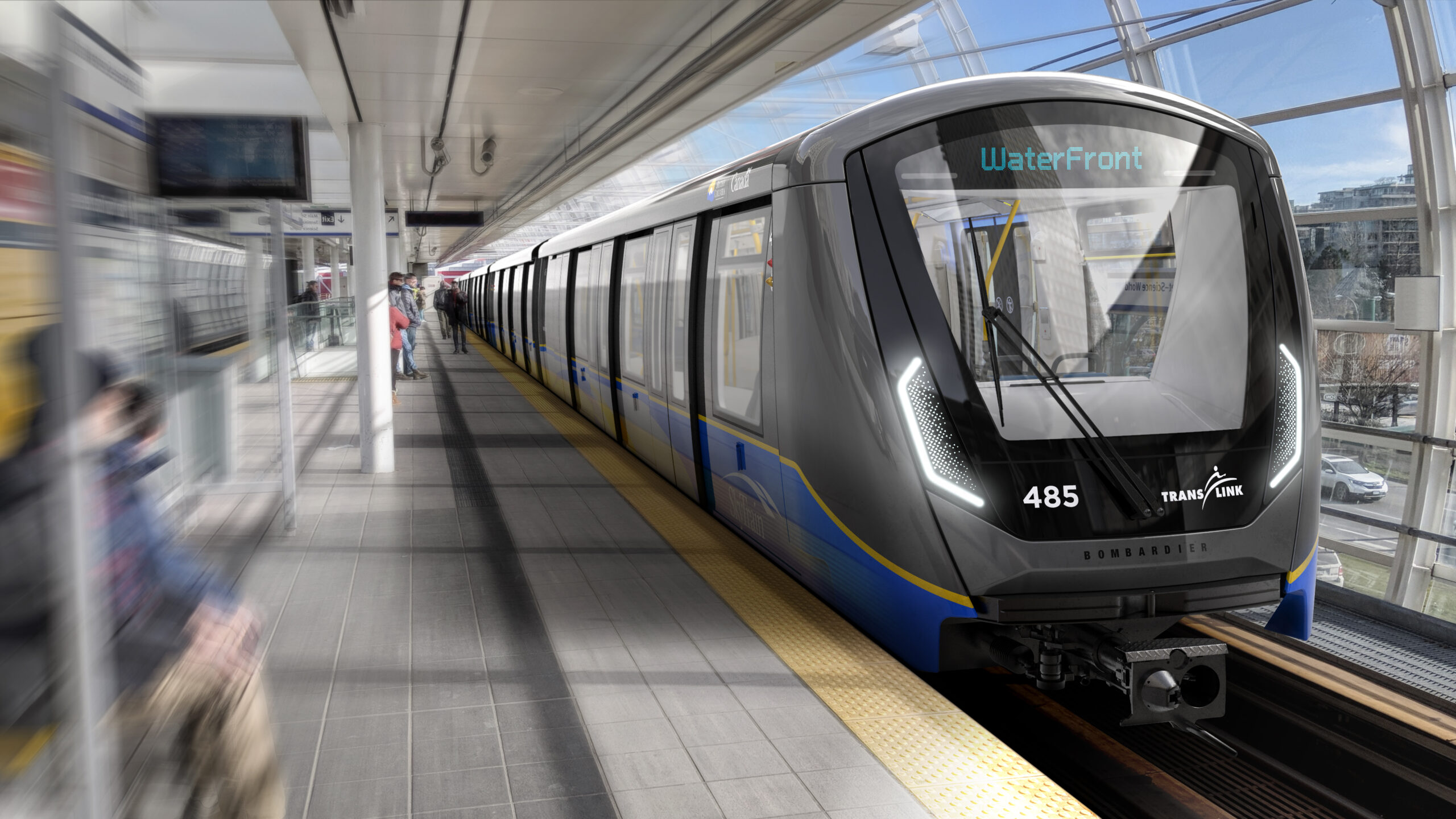 Bombardier wins a contract for new rail cars for Vancouver's SkyTrain