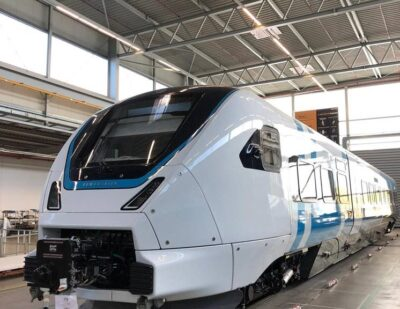 Bombardier Completes First ZEFIRO Express for Sweden