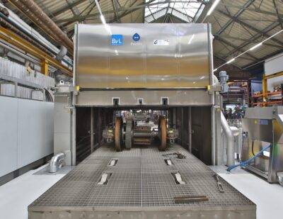 Efficient Cleaning of Railway Parts