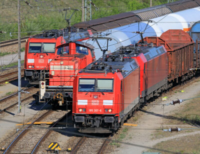 DB Cargo Trials Automatic Shunting Yard Technologies