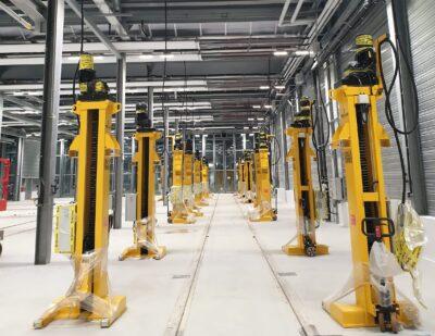Continental Links Secure Paris Tram Depot Order for Mechan
