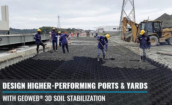 Port & Intermodal Yard Stabilization