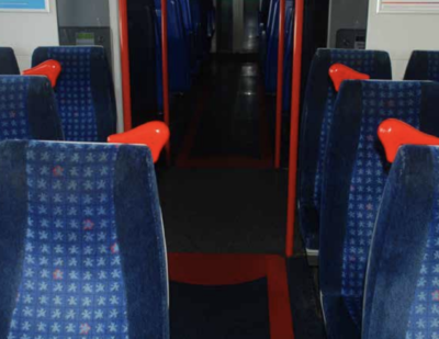 First 3D Printed Parts on UK Passenger Trains
