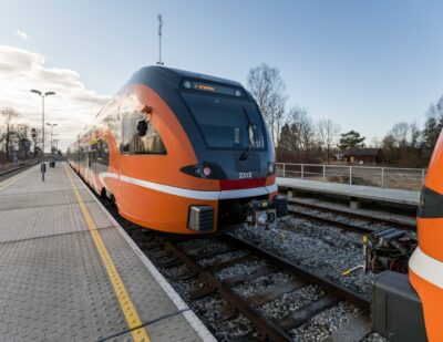 Estonia's Rail Network to Be Fully Electrified