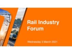 UK Rail Industry Forum 2021