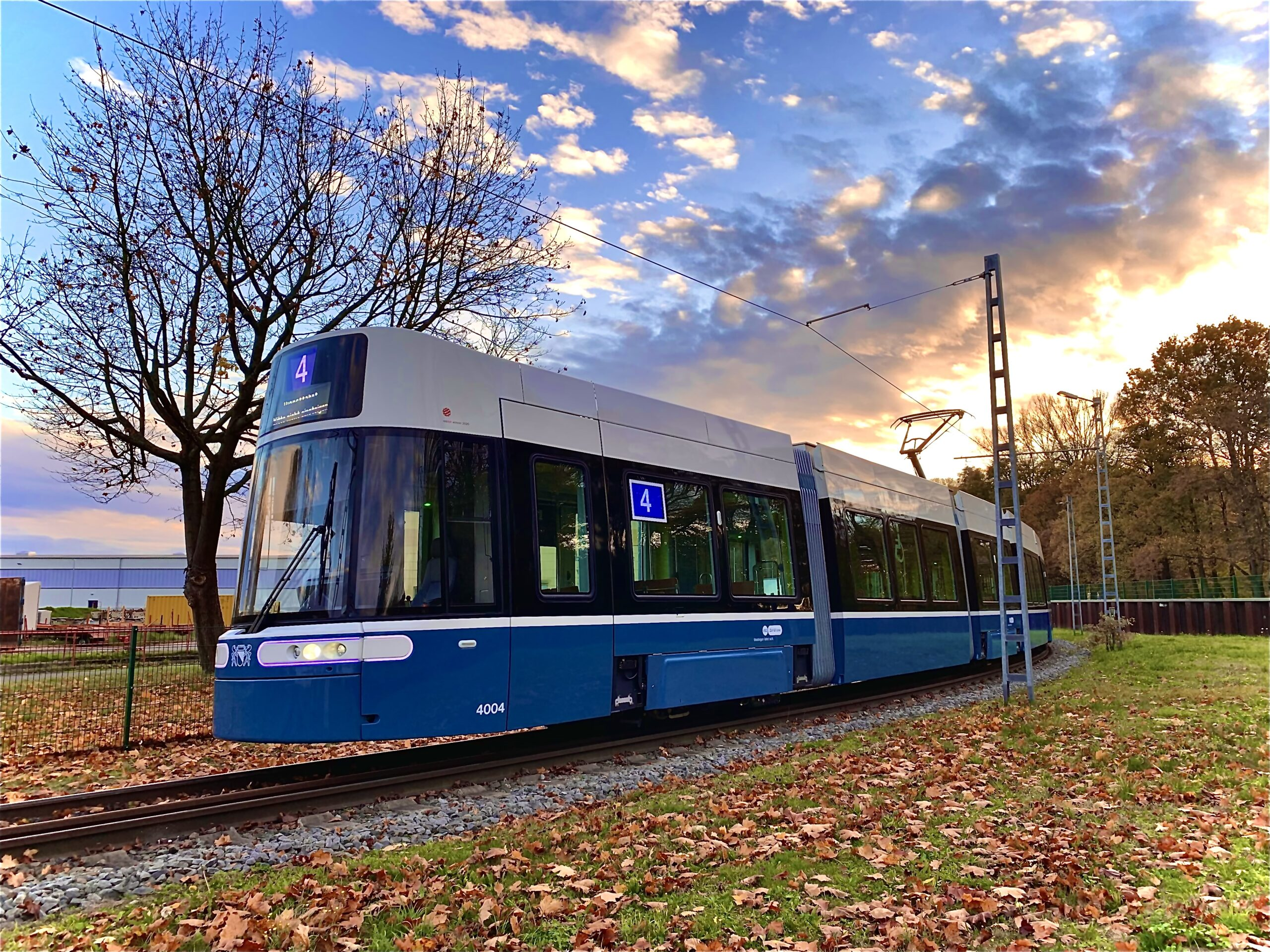 Bombardier FLEXITY tram for Zurich
