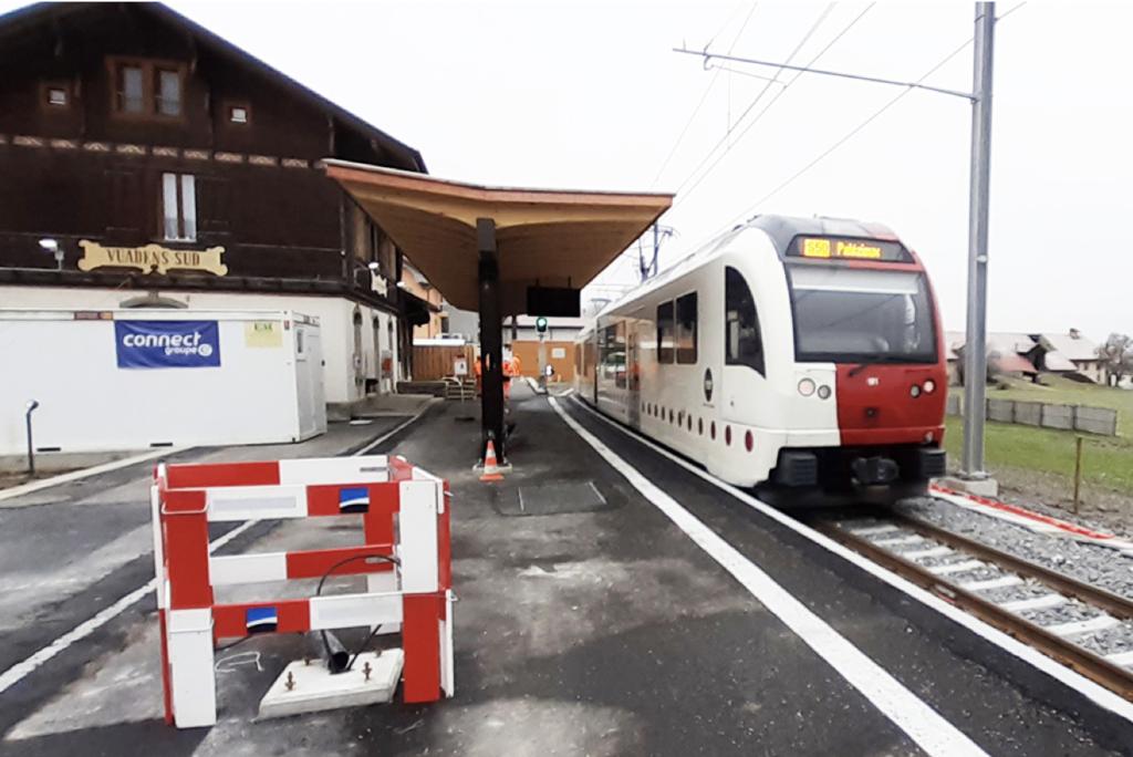 EUROLOCKING Transports Publics Fribourgeois (TPF) Vuadens