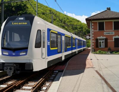 Stadler to Deliver New EMUs for Ticino's Centovalli Railway