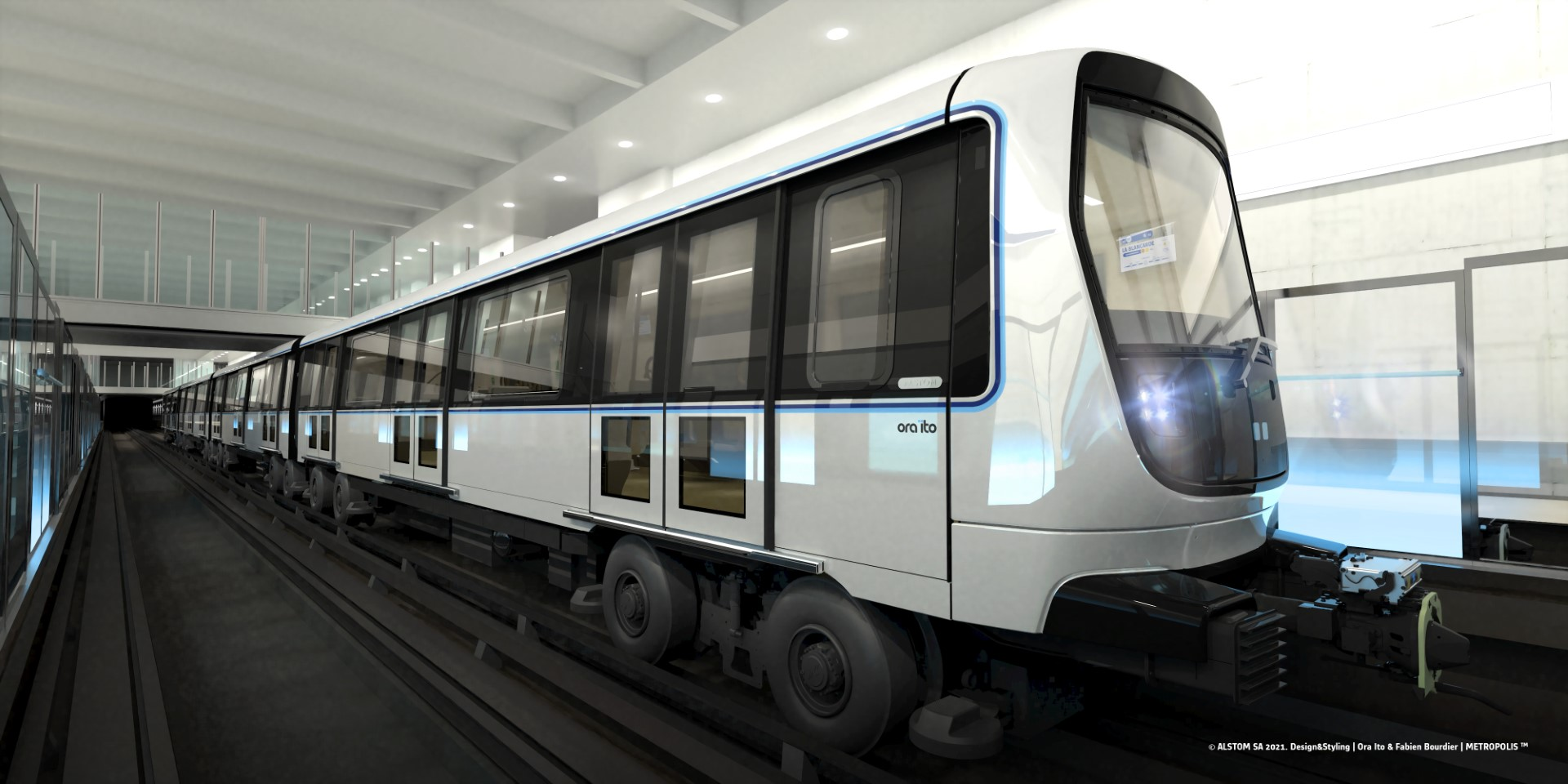 Alstom metro design for Marseille
