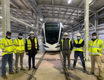 Alstom Completes Test Run for Algeria Tramway Project