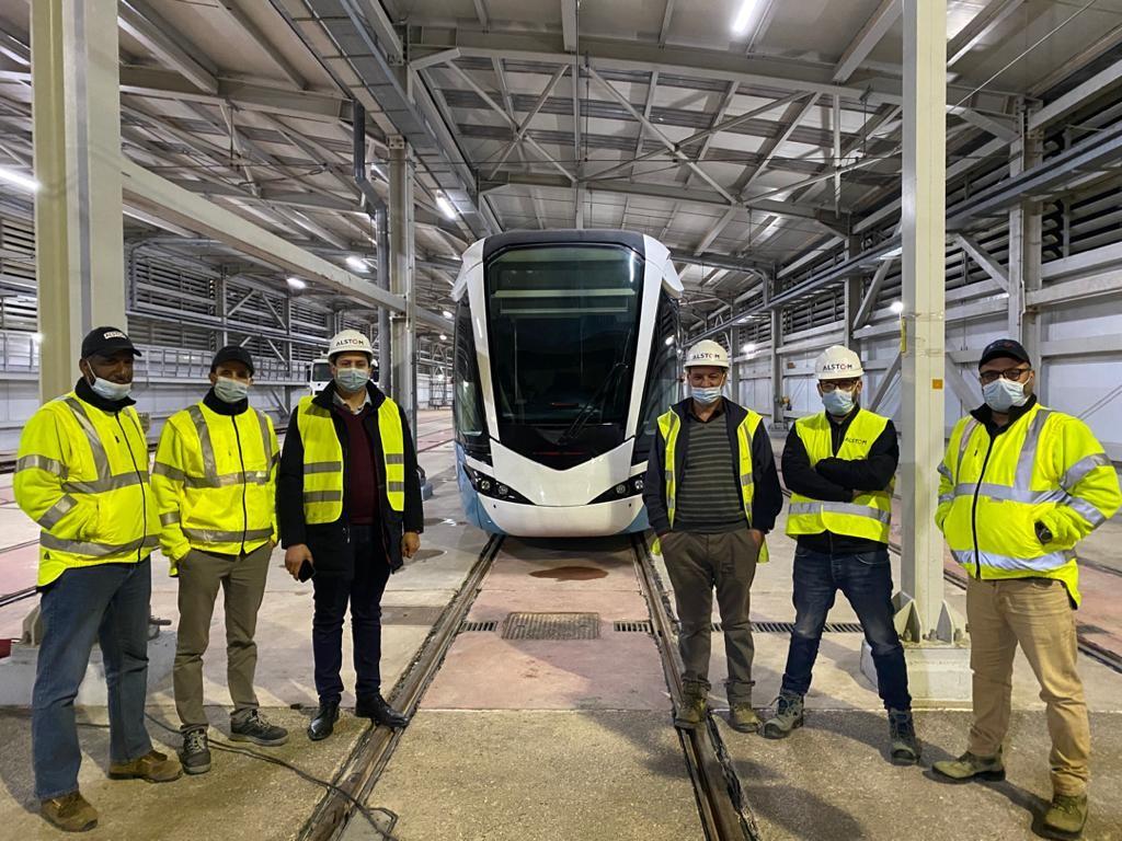 Alstom Citadis for Mostaganem tramway