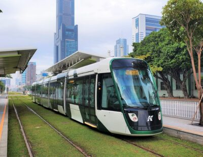Alstom Citadis X05 Trams Enter Service in Kaohsiung