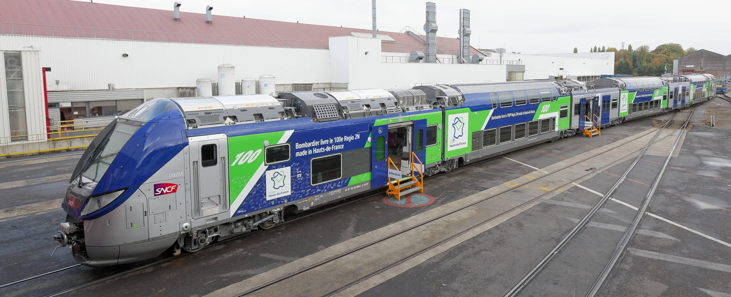 Bombardier OMNEO Regio 2N for Hauts-de-France