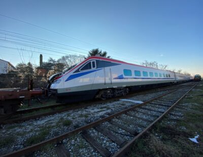 First High-Speed Train Arrives in Greece