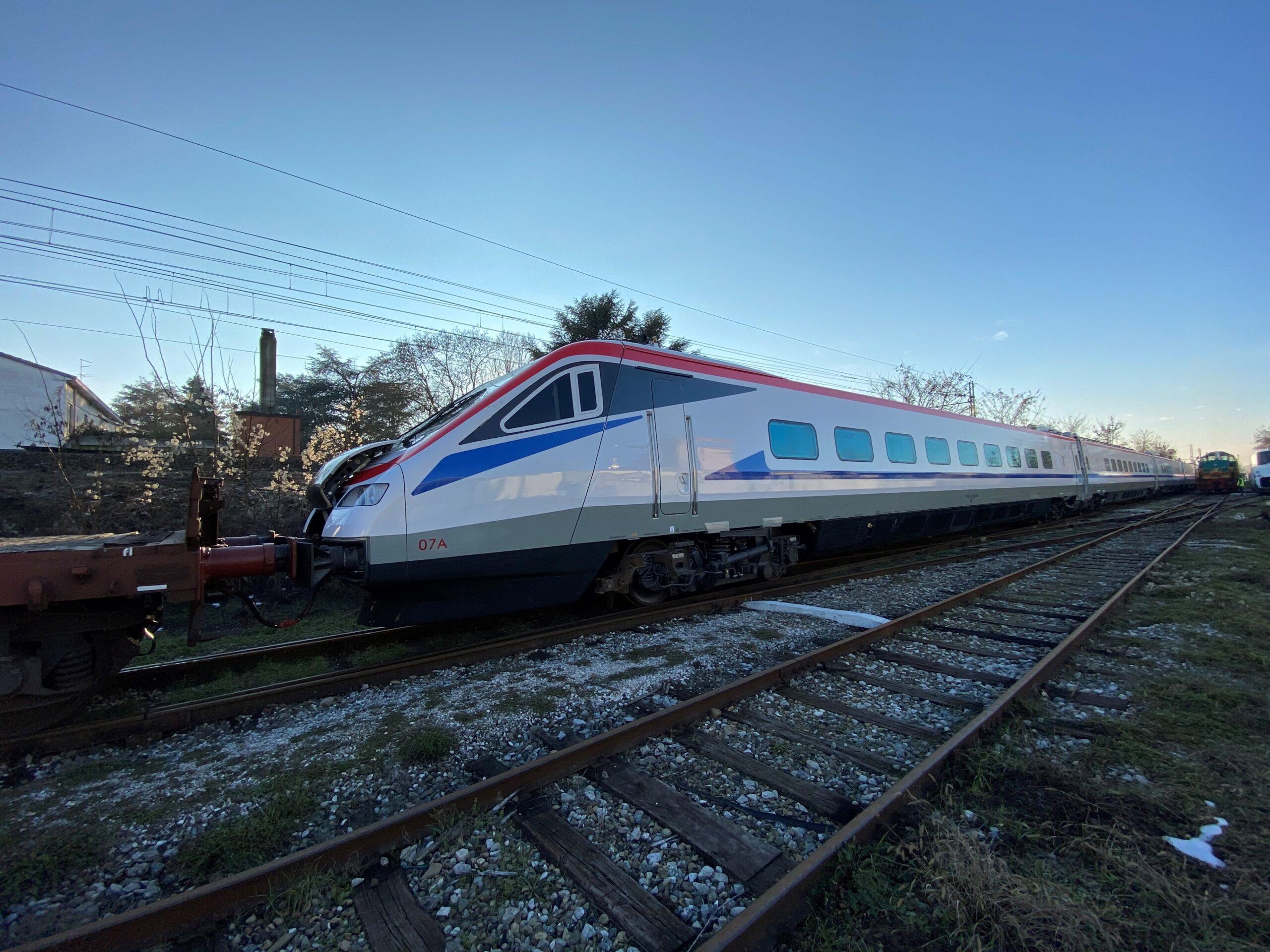 ETR470 Pendolino on its way to Greece