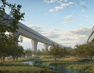 Designs for HS2 Viaducts at Water Orton Unveiled