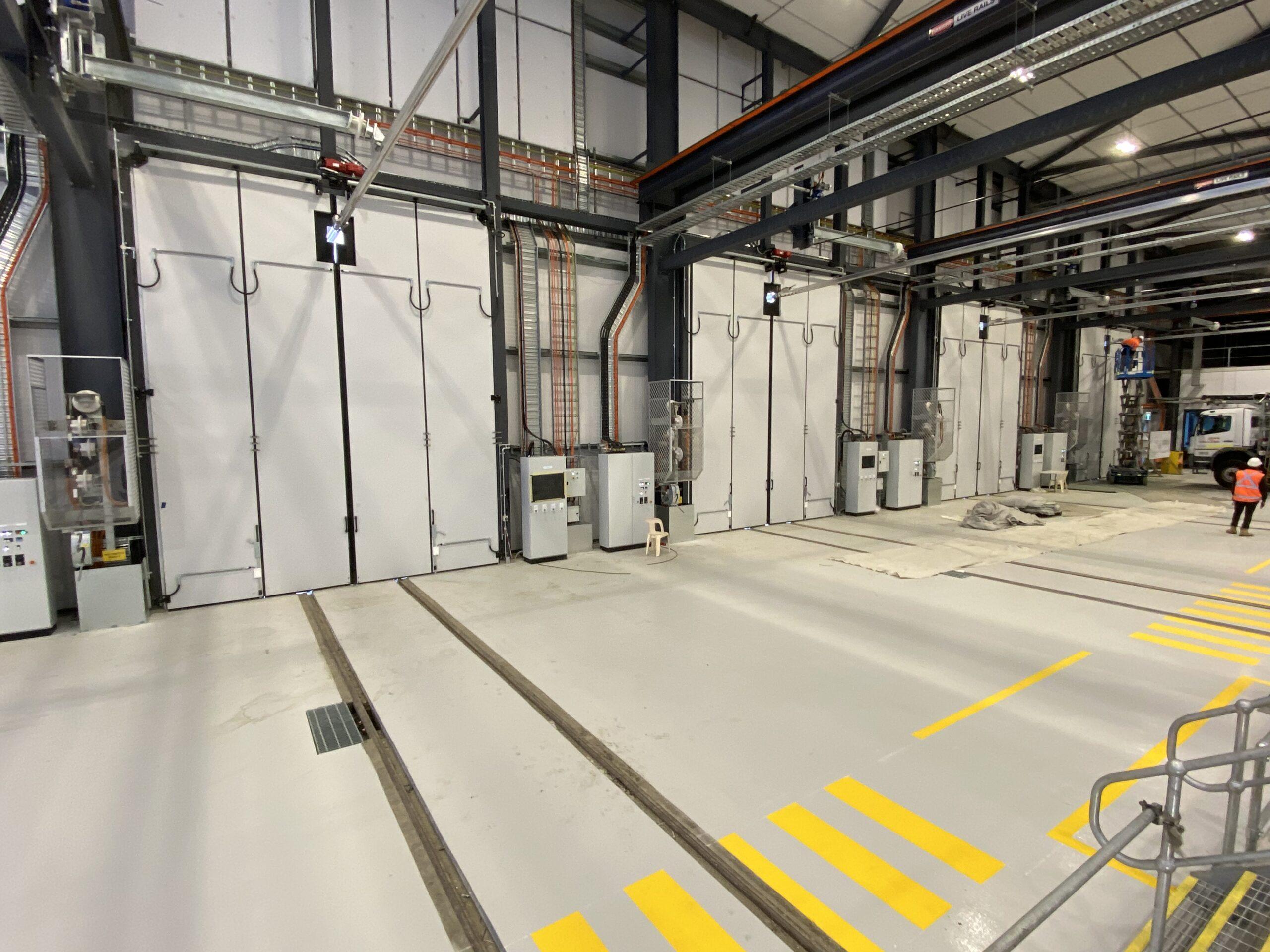 New Intercity Fleet Maintenance Facility in Kangy Angy, NSW