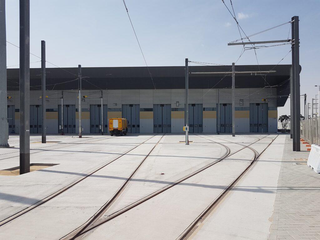 Light Rail Maintenance Depot Doors